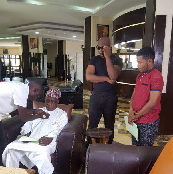 OBASANJO LANDS FIRST NOLLYWOOD MOVIE ROLE