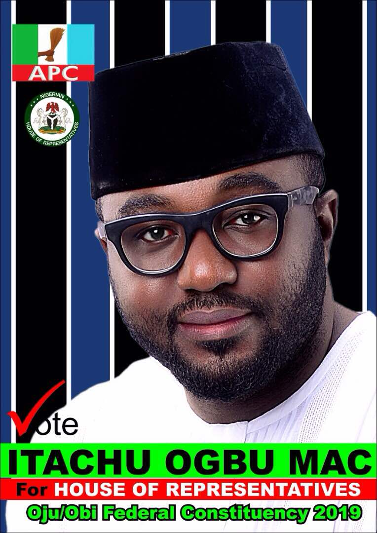 2019: IT'S OFFICIAL, OGBU MAC ITACHU IS IN THE RACE