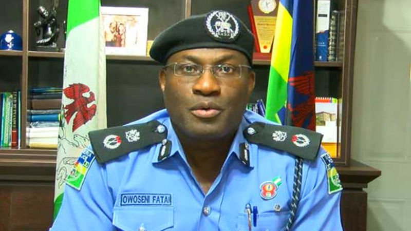 POLICE BOSS VICTIM OF POLITICAL WHIRLWIND?