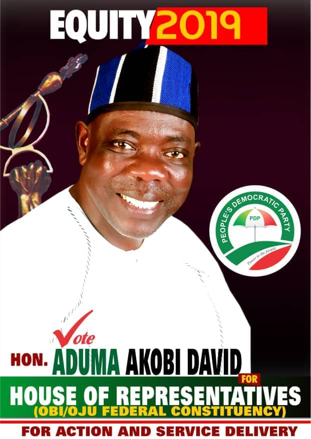 OJU/OBI FEDERAL CONSTITUENCY: AND DAVID DARES 'GOLIATH' AGAIN?