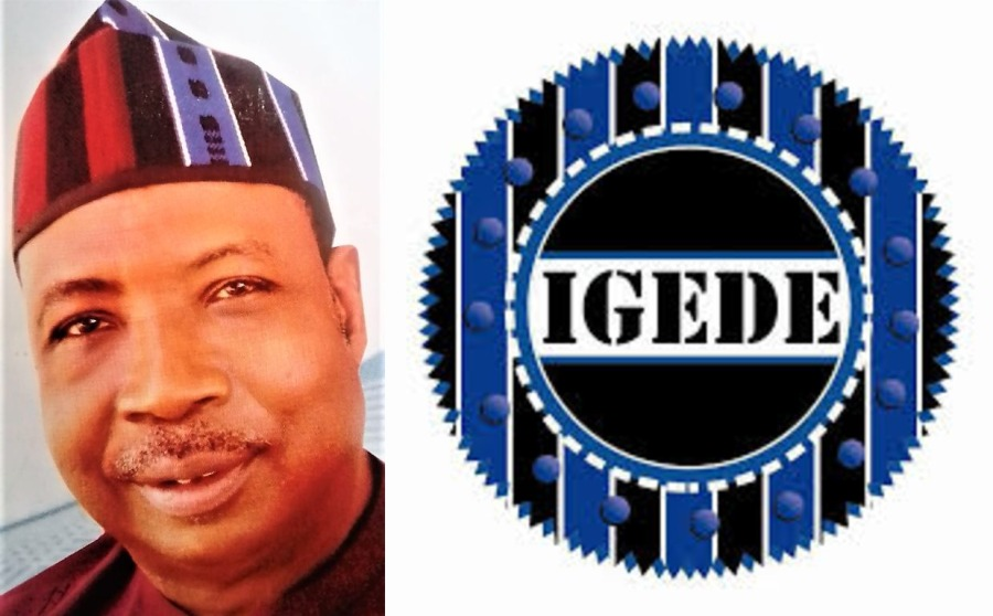 WHAT DOES AN IGEDE PERSONWANT?