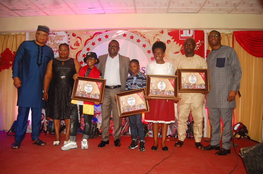 WINNERS EMERGE IN THE NIGERIA WONDER KIDS AWARDS 2018