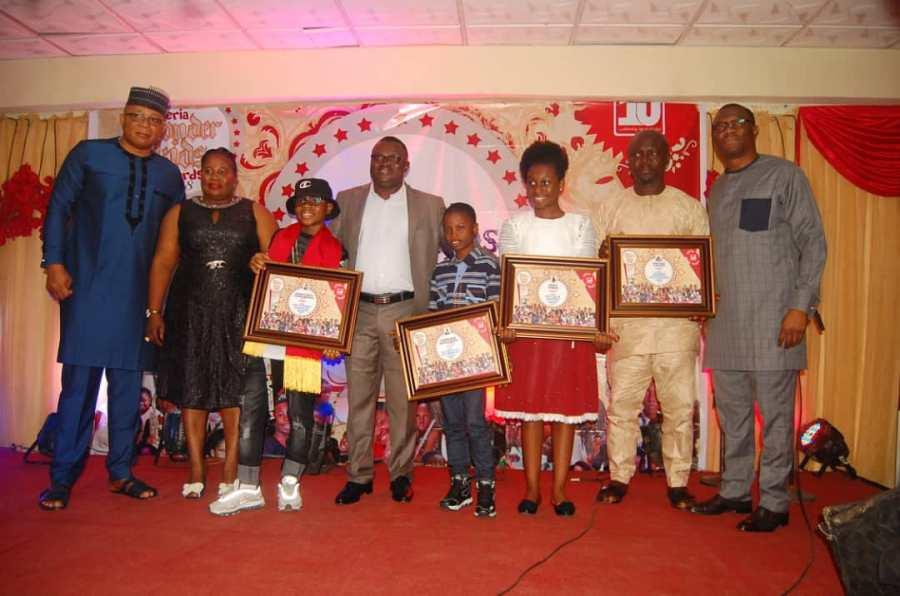 WINNERS EMERGE IN THE NIGERIA WONDER KIDS AWARDS2018