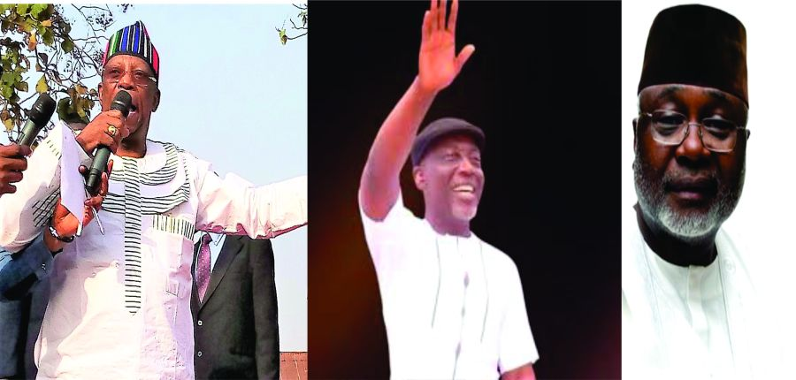 2019: MORO, LAWANI, ONOJA IN TEST OF STRENGTH IN BENUE SOUTH SENATORIAL CONTEST